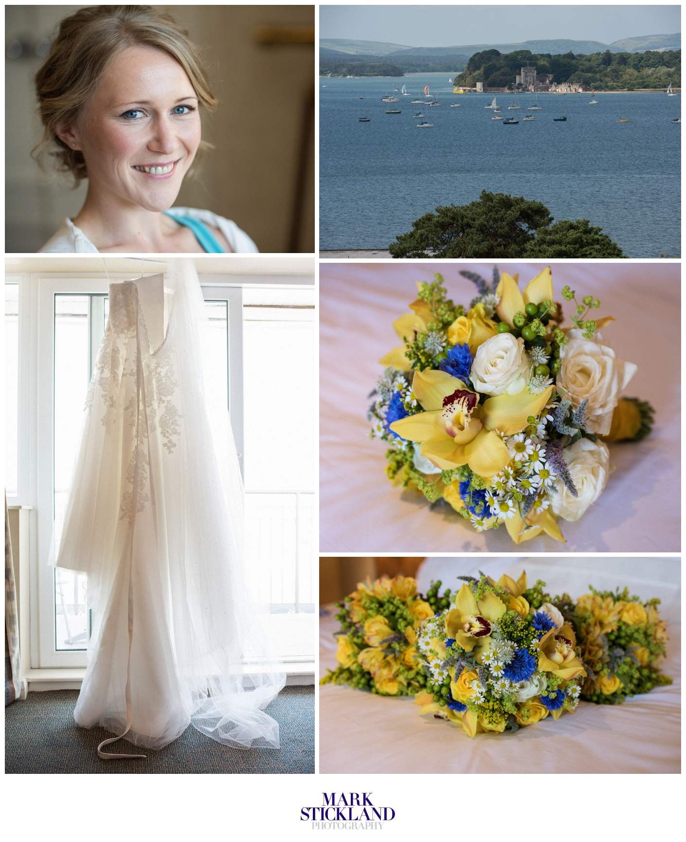 harbour heights wedding dorset