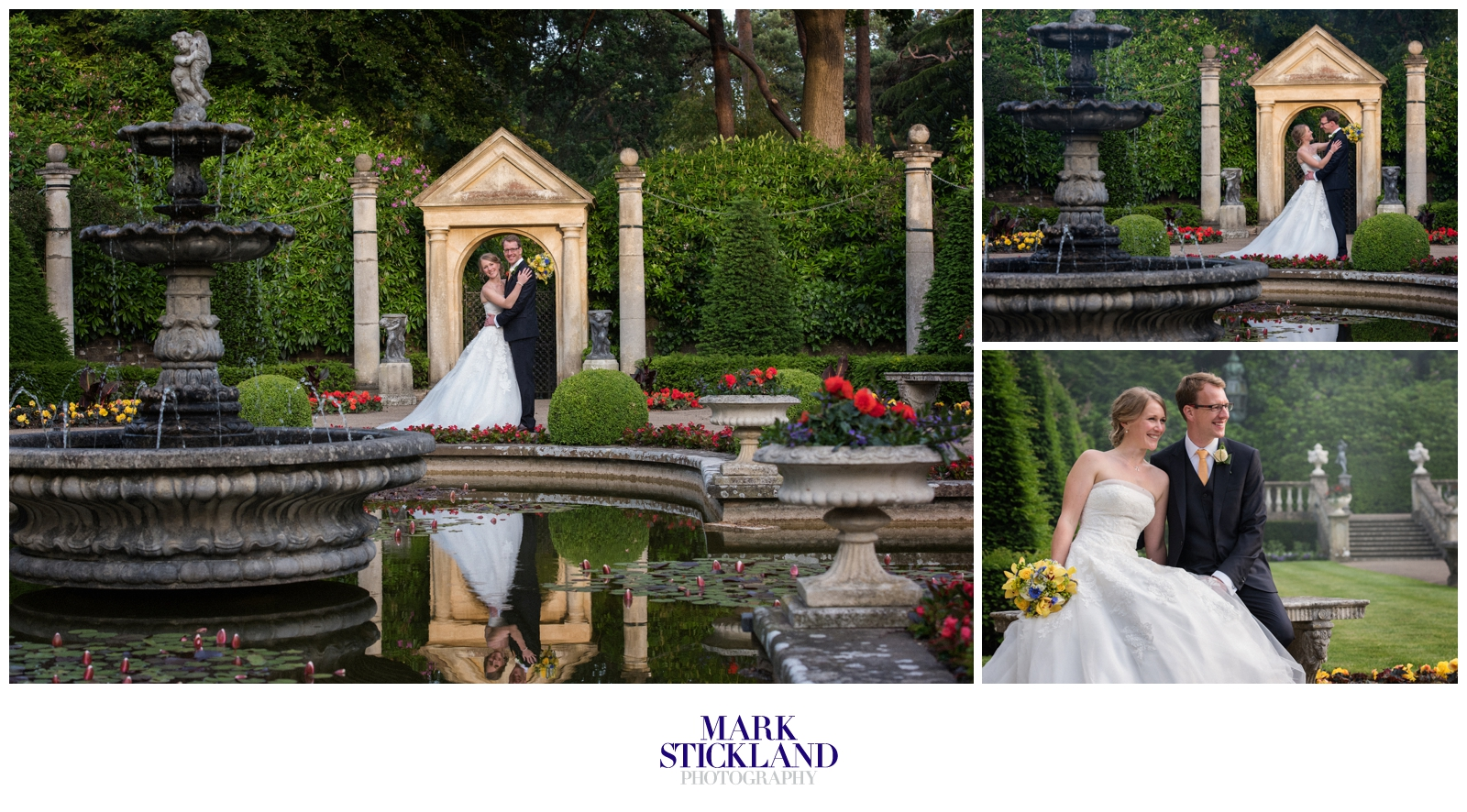 italian villa compton acres wedding